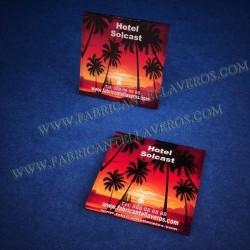 Plaquitas con Imagen 50x50 con Imán o Adhesivas 3mm