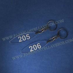 Llaveros Personalizados Rectangulares 75x20 5mm