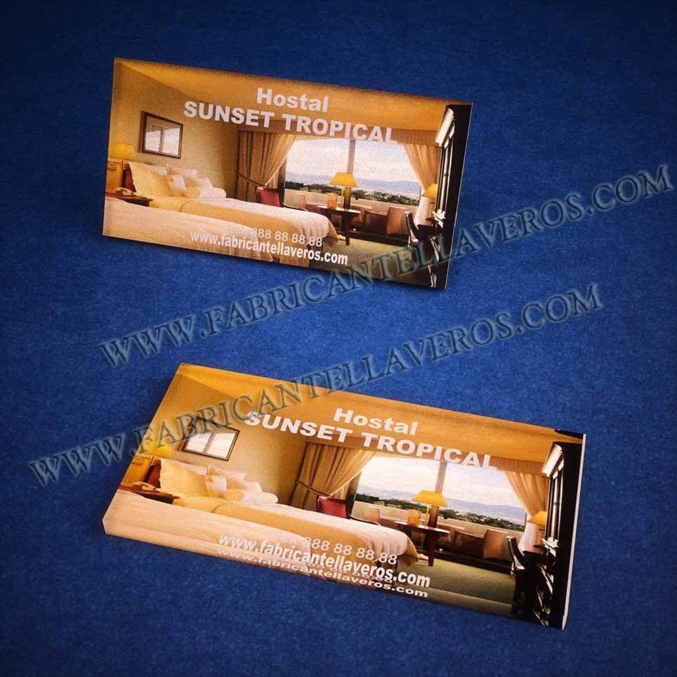 Plaquitas con Imagen 80x40 con Imán o Adhesivas 3mm