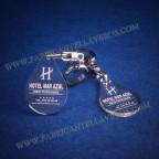 Llaveros Personalizados Gota Pequeña 3mm