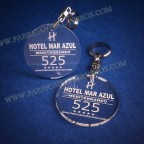 Llaveros Personalizados Cuadrados 3mm