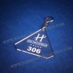 Llaveros Forma Diamante 80x78 grosor 3mm