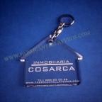 Llaveros Forma Casa 70x70mm grosor 3mm