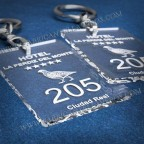 Llaveros Personalizados Rectangulares 100x60 3mm