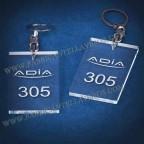 Llaveros Personalizados Rectangulares 80x50 8mm