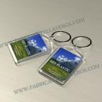 Llaveros Personalizados con Imagen 27x40mm Gota Pequeña fondo transparente 6mm