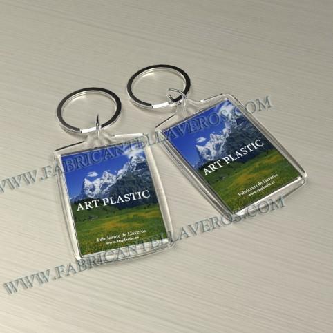 Llaveros Personalizados con Imagen 50x50mm Cuadrados fondo blanco 6mm