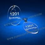 Llaveros Personalizados Gota pequeña 5mm