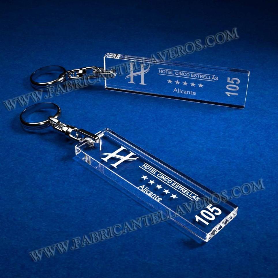 Llaveros Personalizados Rectangulares 100x60 5mm