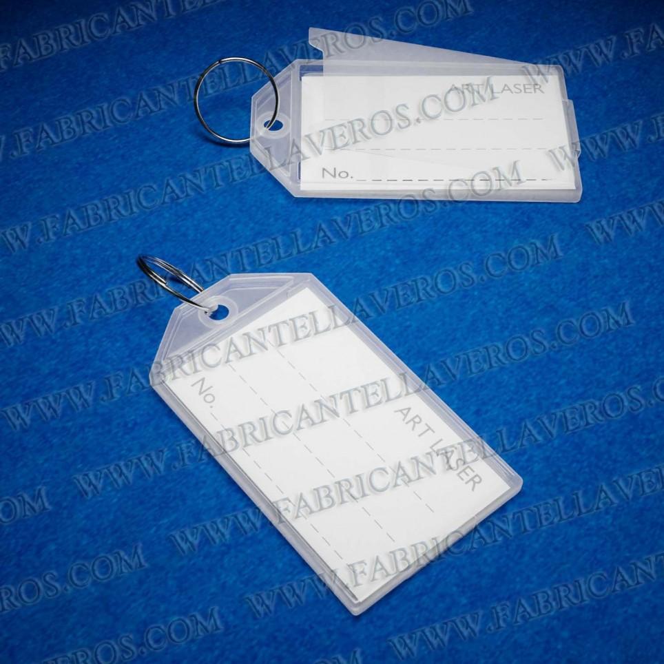 Llaveros para etiqueta 56X30 MM