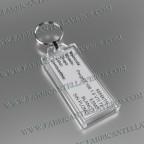 llavero etiqueta transparente 70x30mm