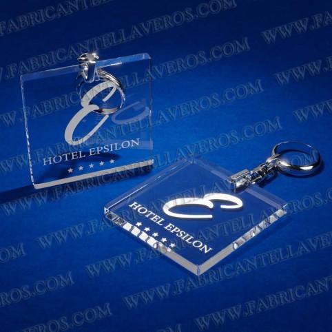 Llaveros Personalizados 50x50mm Cuadrados 3mm