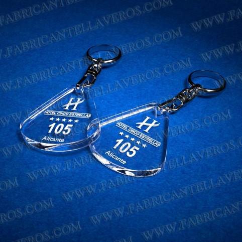 Llaveros Personalizados Ovalado 5mm