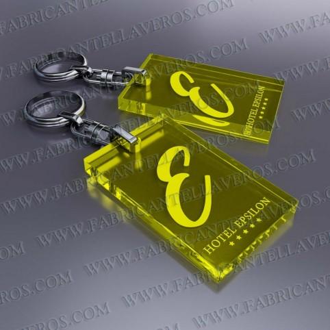Llaveros Personalizados 52x32 3mm grosor